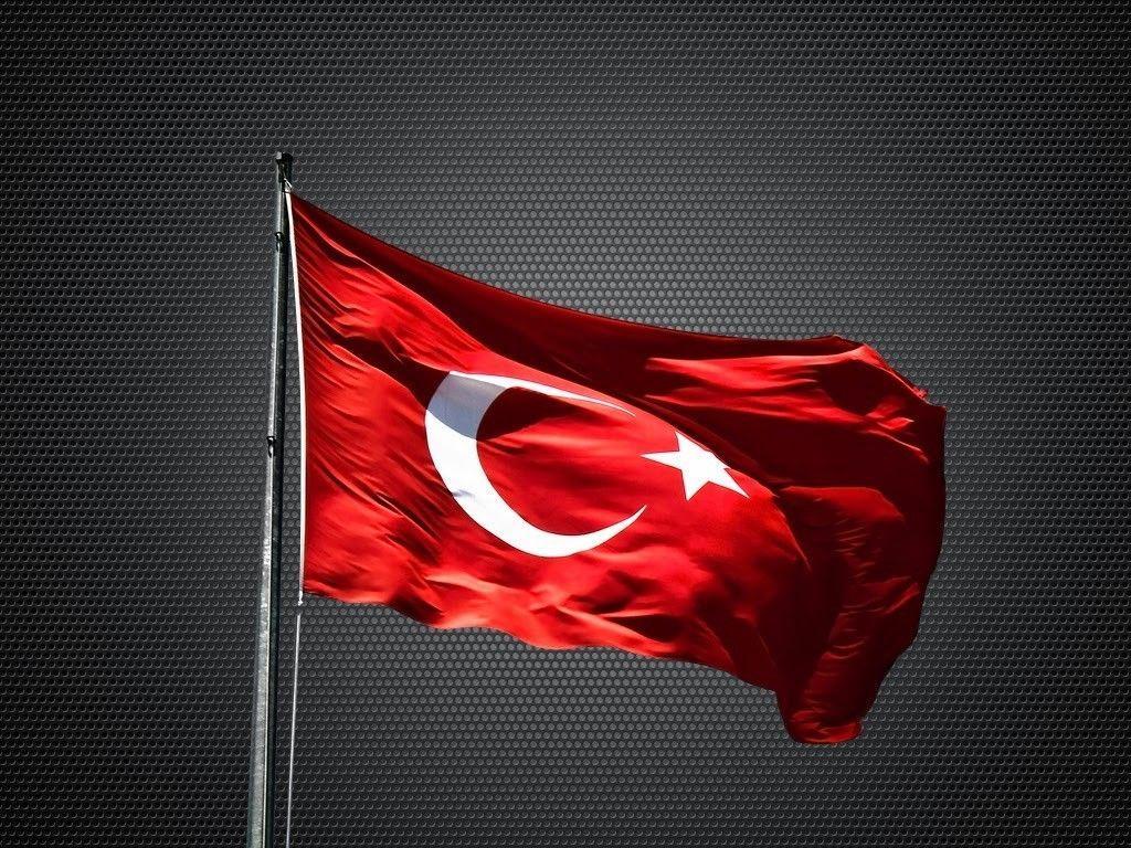 12x16 cm Türk Bayrağı