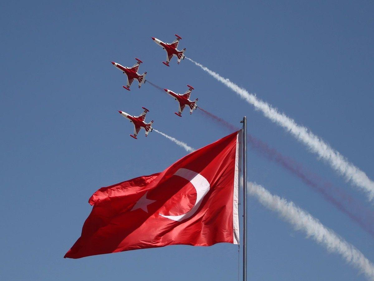 1x15 cm Türk Bayrağı
