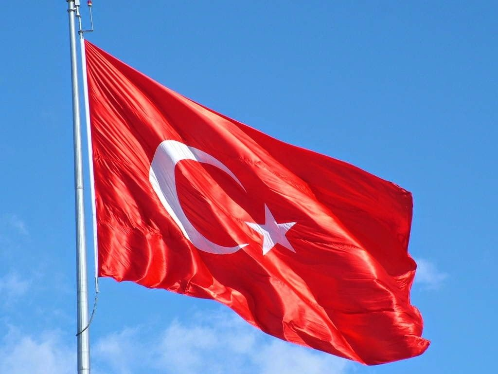 20x30 cm Türk Bayrağı