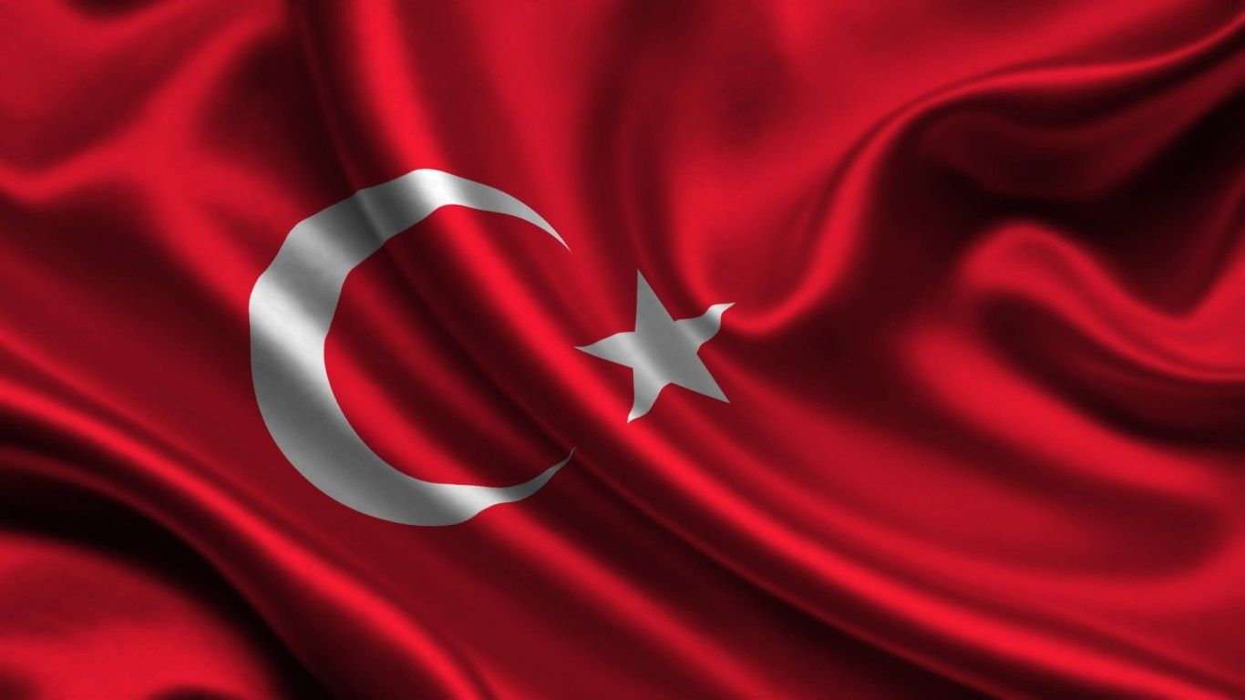 500x50 cm Türk Bayrağı
