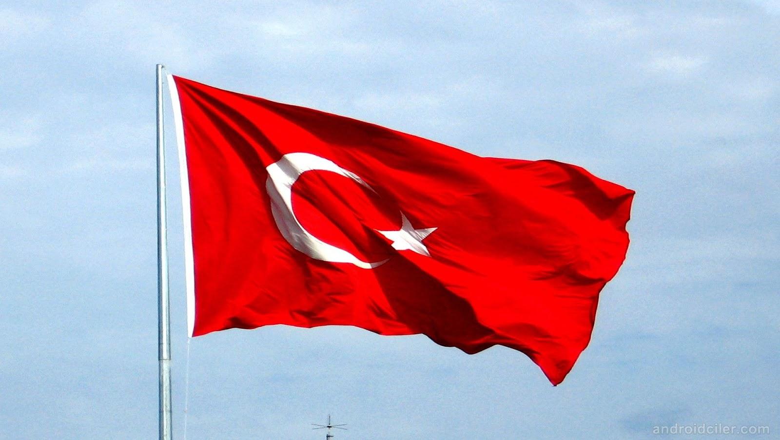 50x75 cm Türk Bayrağı