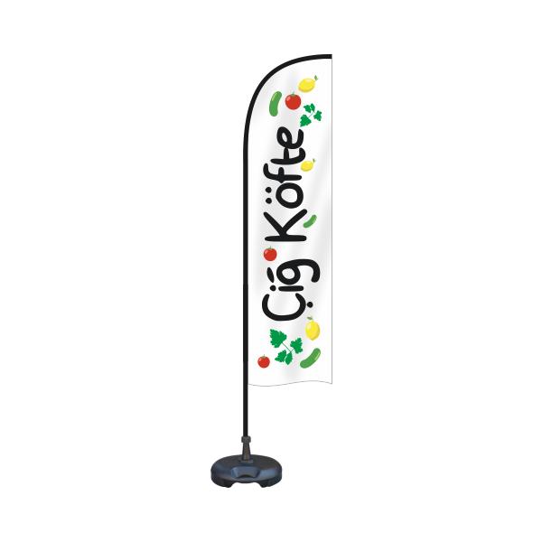 75x200 cm Plaj Bayrağı Yelken Bayrak Yol bayrak