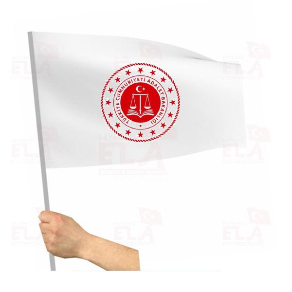 Adalet Bakanlığı Sopalı Bayrak ve Flamalar