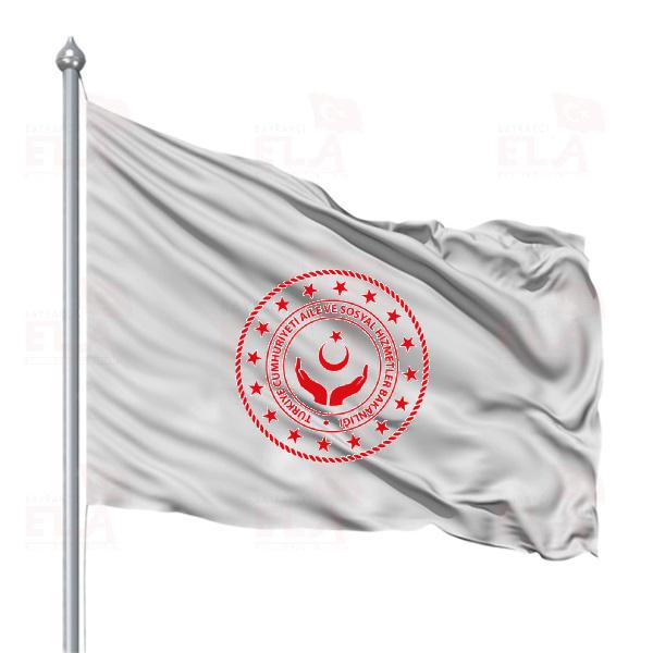 Aile ve Sosyal Hizmetler Bakanlığı Bayrakları