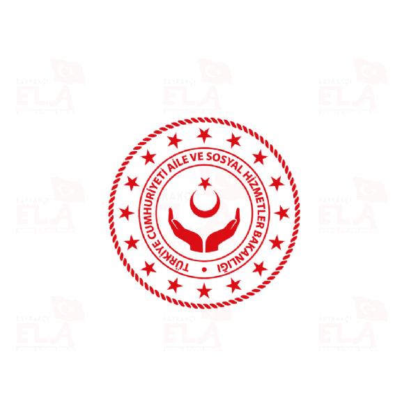 Aile ve Sosyal Hizmetler Bakanlığı Logo Logolar Logosu Görsel Fotoğraf Vektör